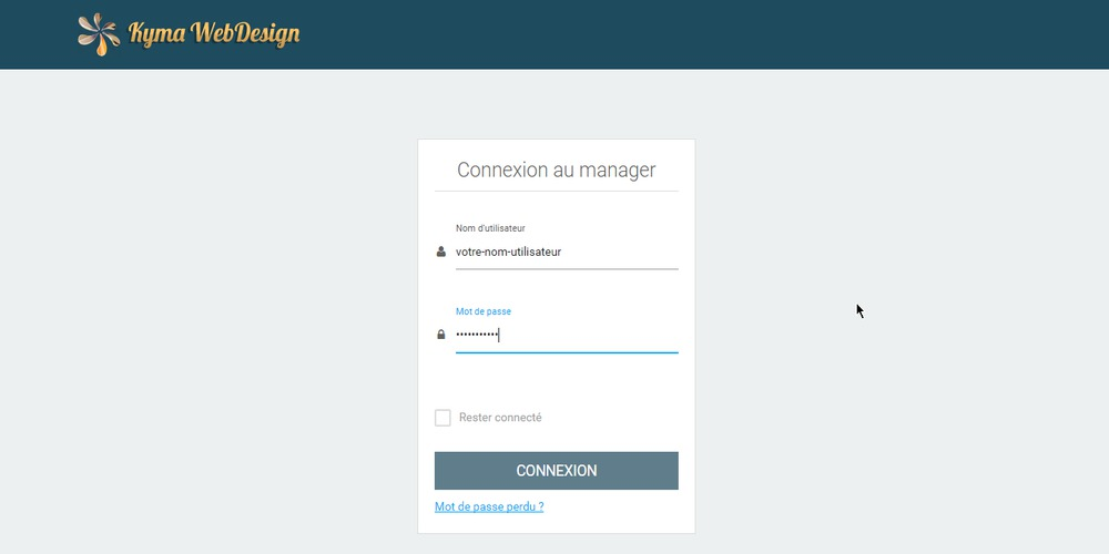 Connexion manager